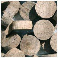 WIDGETCO 5/8'' Walnut Wood Plugs, End Grain