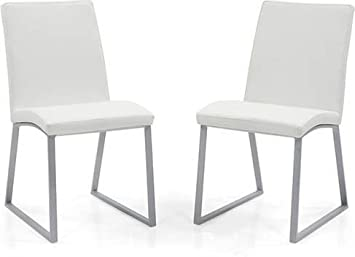 Urban Ladder Delphine Dining Chairs, Set of 2 (White)