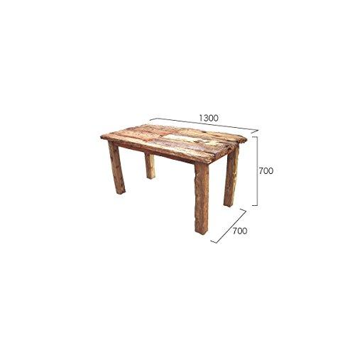 ジャービス商事 流木テーブル 『ガーデンテーブル』 無塗装 B06XPQW3FN