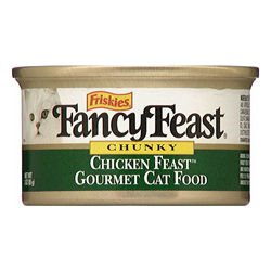 Fancy Feast Chunky Chicken Feast (24/3-oz cans), My Pet Supplies