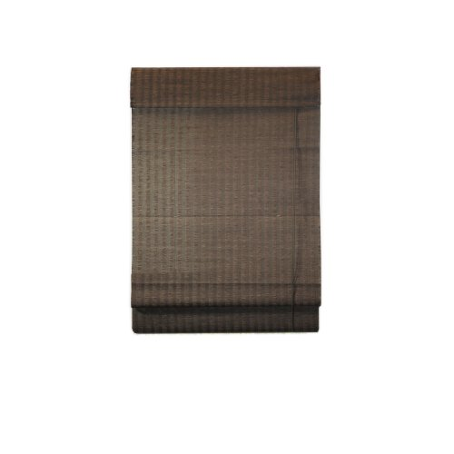 Lewis Hyman 0775139 Natural Fiber Bamboo Roman Shade, 39-Inch Wide by 72-Inch Long, - Natural Bamboo Woven