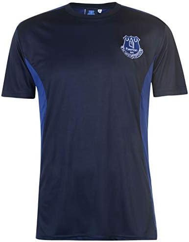 Everton ポリTシャツ メンズ ブルー フットボール サッカー ファン トップ Tシャツ