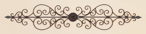 Metal Wall (Deco 79 26545 Metal Wall Plaque, 44