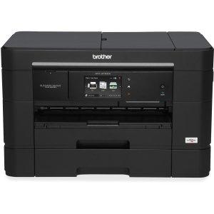 Brother Business Smart MFC-J5720DW Inkjet Multifunction Printer - Color - Plain Paper Print - Desktop - Copier/Fax/Printer/Scanner - 35 ppm Mono/27 ppm Color Print - 22 ppm Mono/20 ppm Color Print (ISO) - 6000 x 1200 dpi Print - 12 cpm Mono/9 cpm Color Co