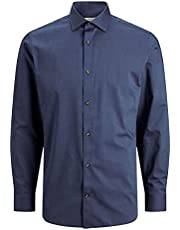 Jack & Jones Men's JPRBLAROYAL SHIRT L/S NOOS Shirts