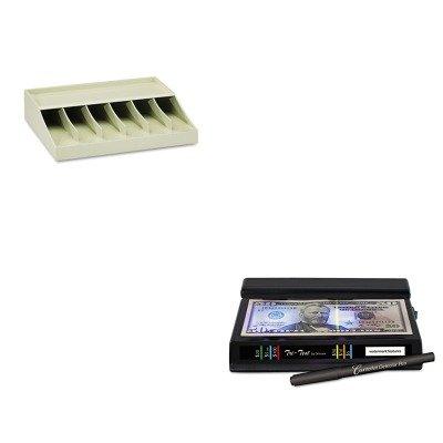 KITDRI351TRIMMF210470089 – Value Kit – Dri-mark Tri Test Counterfeit Bill Detector (DRI351TRI) and MMF Bill Strap Rack (MMF210470089)