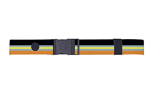 (Puma Golf 2019 Men's Ultralite Stretch Belt (One Size), Peacoat-Aloha)
