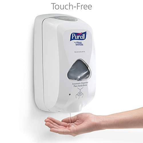 PURELL Advanced Hand Sanitizer Gel TFX Starter Kit, 1-1200 mL Hand Sanitizer Refill + 1- PURELL TFX Dove Grey Touch-Free Dispenser – 5456-D1 by Purell (Image #2)