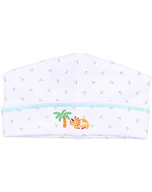 Baby Boy Jurassic Embroidered Hat Blue