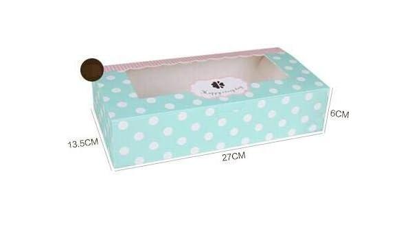 bbcb8232452d Amazon.com: XLPD 20X11x6cm Large White/Brown Paper Gift Box Big Size ...