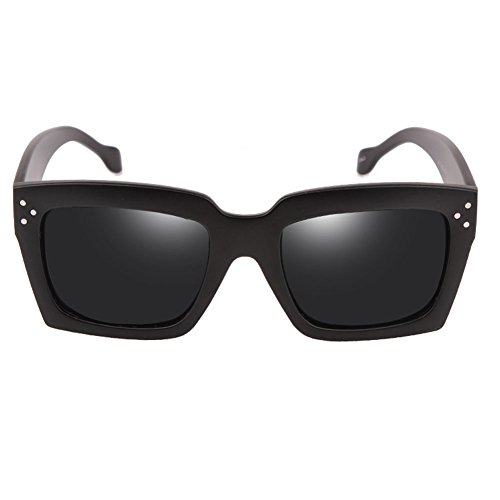 de Gafas Femeninas Sol la la Gafas 1 de Sol de DT de Color Femeninas Caja Protección 2 UV 85Bf5qw