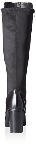 Tall Rush Women's with Zip Black Heel Boot Modern EqP1E