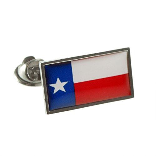 USA American TEXAS State Flag Lapel Pin Badge (Texas Flag Lapel Pin)