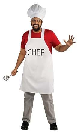 South Park Adult Chef Set, Red, Standard