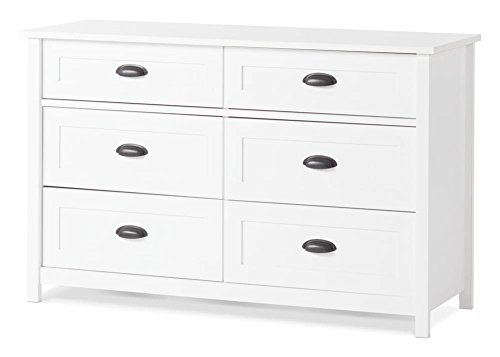 Childcraft Abbott Double Dresser- Matte White by Child Craft