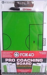 Fox 40 Pro Coaching Board Soccer (40.5 x 25.5 cm) Fox 40 International Inc.