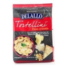 - Delallo Three Cheese Tortellini, 8.8 Ounce - 12 per case.