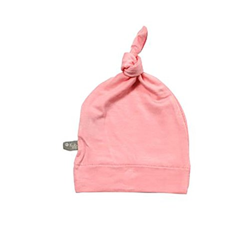 - KYTE BABY Organic Bamboo Baby Beanie Hats - Super Soft Knotted Caps Available in Pattern and Solid Colors (NB, Petal)