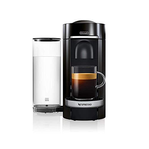 De'Longhi Nespresso Vertuo Plus ENV 155.B – Cafetera de cápsulas, 5 tamaños de tazas, incluye paquete de bienvenida con…