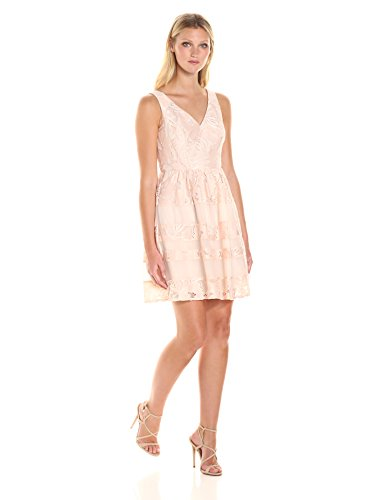 Adrianna Papell Damen Kleid Pinksand/Almond mNqZ9
