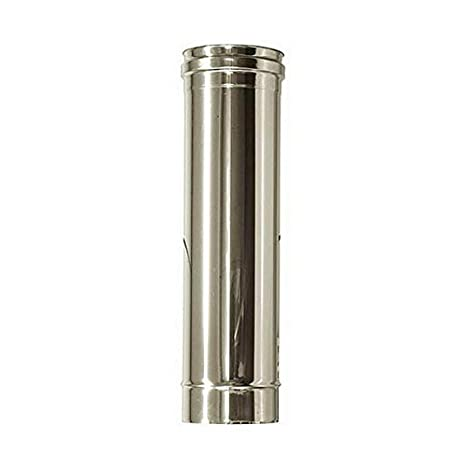 Flue DN tubo de acero inoxidable 150 1 mt L 1000 mm de acero ...
