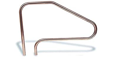 """Aqua Select Stainless Steel Pool Hand Rail for Inground Swimming Pools 