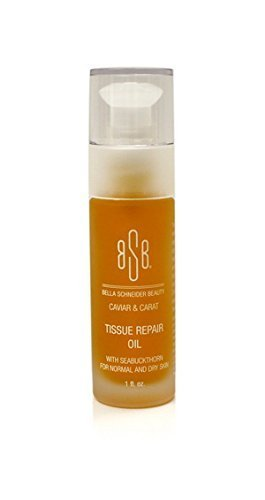 Price comparison product image Bella Schneider Beauty Tissue Repair Facial Oil with Seabuckthorn,  Moisturizing Facial Oil,  Retinol Face Oil,  Skin Hydrate,  Dry Skin Repair,  Cell Regeneration,  Collagen Facial Oil,  Luxury Facial Oil