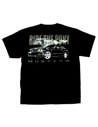 Ford Mustang T-Shirt Ride The Po...