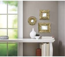 3-Sets Better Homes and Gardens Baroque Mirrors