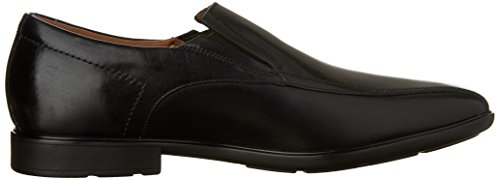 Clarks Mens Gosworth Step Slip On Black Leather 7xGini