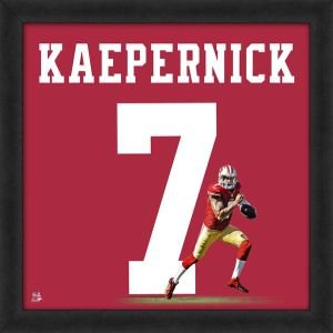 San Francisco 49ers Colin Kaepernick 20x20 Framed Uniframe for sale  Delivered anywhere in Canada