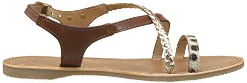 Womens Tropeziennes 39 Horse Belarbi Flat Size Sandals Leather Les M Beige Par FIRnnd