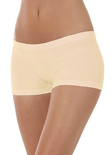 Donna Intimo Focenza Culotte Cipria Pantaloncini Shorts 6YnxpSxqF
