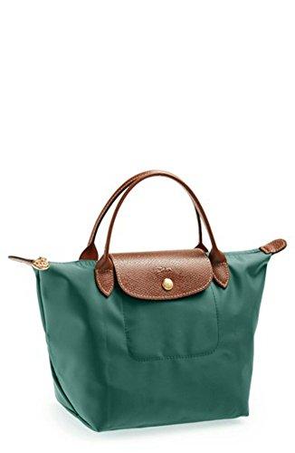 Longchamp Le Pliage Top Handle Bag, Mini, Cedar - Longchamp Green