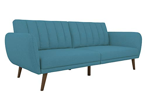 Novogratz 2115829N Brittany Futon Light Blue