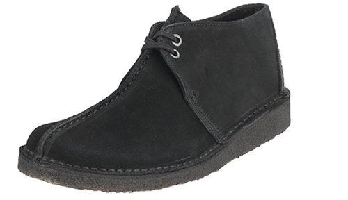 Clarks Originals Mens Desert Trek Chukka Boot Black Suede CxSudTi5M