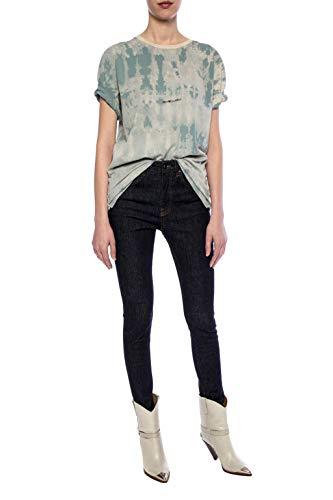 Claro Mujer 563338ybhh24011 Azul Saint Algodon Laurent shirt T PqUxI