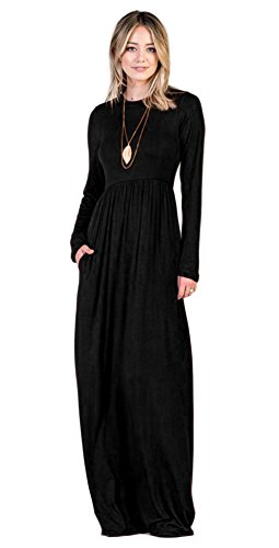 long black modest dress - 6