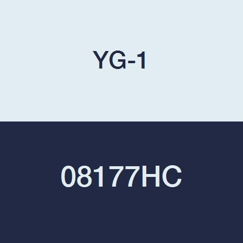 6-1//2 Length 6 Flute Long Length TiCN Finish YG-1 08177HC HSS End Mill 1 Center Cutting
