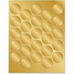Geographics Gold Foil Seals - 1.75