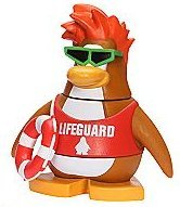 CLOSE OUT PRICING - Disney Club Penguin LIFEGUARD 2