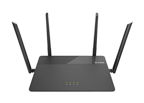 - D-Link AC1900 Wireless WiFi Router – Smart Dual Band – MU-MIMO – Powerful Dual Core Processor – Fast Wi-Fi for Gaming and 4K Streaming – Reliable Coverage (DIR-878)