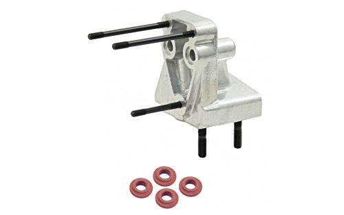 Empi 8894 Dog House Oil Cooler Adapter, Vw Volkswagen Type 1 Bug, Beetle, Ghia, Bus, Baja, Sand Rail (Best Oil For Vw Beetle)