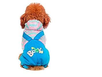 ML Perro Ropa Perro pequeño con Capucha Traje de la Mascota ...