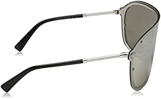 f6f9b0c43218 Versace Rimless Sunglasses For Women - Silver, VE2180 10006G44. Loading  Images.