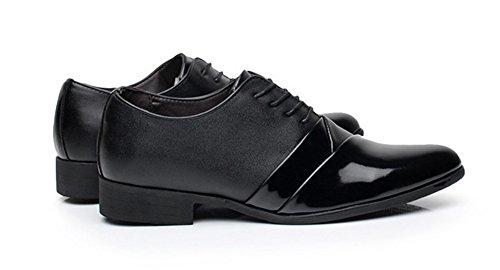 Spring Business Dressed Tide Youth Black da 38 uomo Summer Xie scarpe Black erano 43 Springing Le 0RT84wxw