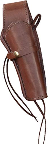 Brown Right Handed Smooth Leather Gun Holster ()