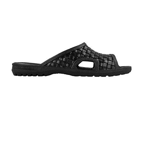 Sandals Men's Okabashi Black Torino Flops Flip q0wIwO