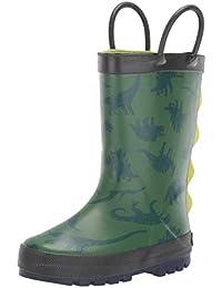 Kids Boy's Bart Rubber Rainboot Rain Boot