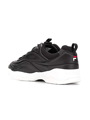 101056125y Uomo Nero Fila Pelle Sneakers qpCwBEBxA